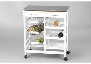 Carro de cocina compra barato carros de cocina online en - Ikea cestas cocina ...