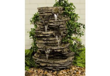 Cascada fuente compra barato cascadas fuentes online en for Cascada agua jardin