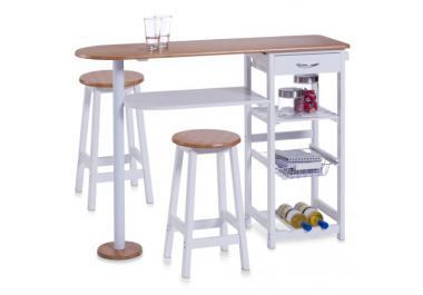 Mesa barra compra barato mesas barra online en livingo for Mesa barra cocina