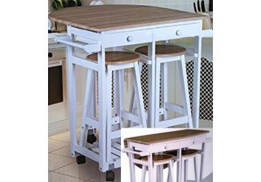 Mesa de cocina compra barato mesas de cocina online en - Mesas auxiliares cocina ...