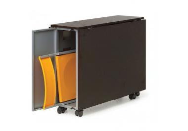 Mesa plegable compra barato mesas plegables online en - Mesa plegable con sillas dentro ...