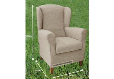 Sill n orejero compra barato sillones orejeros online en - Sillon para leer ...